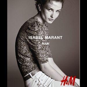 Isabel Marant pour H&M Metallic Silk Top