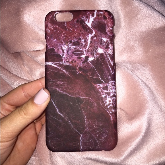 check out e42c8 b29ce ❤️Maroon Red❤️ Marble Iphone 6/6s Phone Case NWT