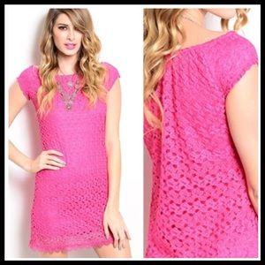 Dresses & Skirts - 🎉HP🎉Pink Layered Dress