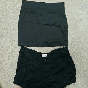 Short and skirt