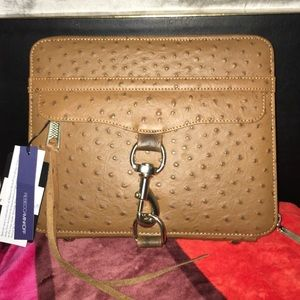 Rebecca Minkoff Tablet Case in Embossed Leather