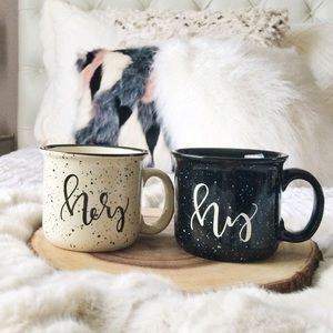 Lucy Sui SF Other - New Lucy Sui SF His Hers Mr Mrs Couples Mugs