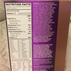 AdvoCare Other - AdvoCare meal replacement shake