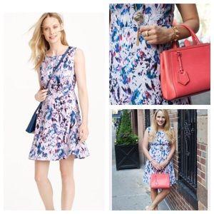 J. Crew Dresses & Skirts - J Crew Watercolor Floral Dress