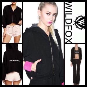 Wildfox Jackets & Blazers - ❗1-HOUR SALE❗WILDFOX Balance Hoodie