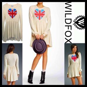 Wildfox Dresses & Skirts - ❗️1-HOUR SALE❗️WILDFOX Mini Dress British Babydoll