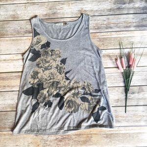 MOVING SALE  New Zealand Maya Grey Floral Top