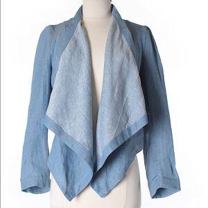HP 11/2 Vivienne Tam Chambray Linen Jacket