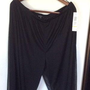 Onyx Pants - Onyx Palazzo Pants Size 2x 💕