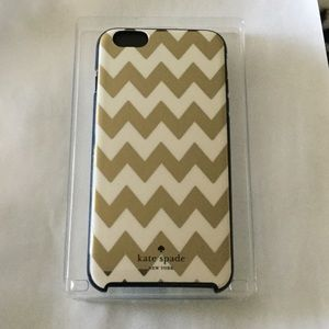 NWT Kate spade iPhone 6/6s PLUS hybrid hardshell