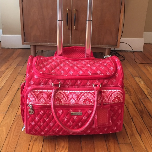 5de61fabcc Vera Bradley Small Rolling Carry On Luggage. M 5756e08a3c6f9f60cd002c9d