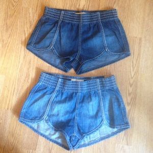 NWT Hollister jean shorts size XS