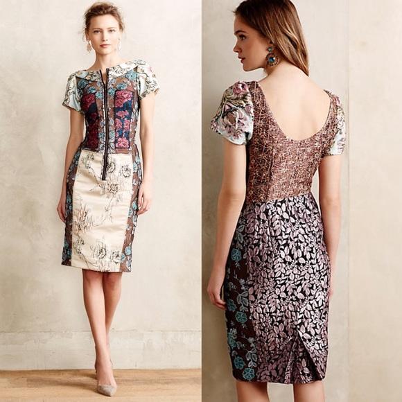 9e668581fcf Anthropologie Dresses   Skirts - FINAL FLASH SALE 🌶 Byron Lars 🌶 Pieced  Brocade
