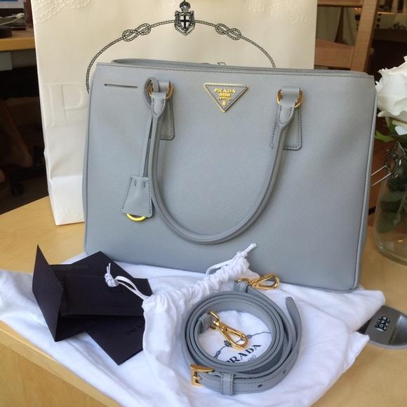 Prada Handbags - 🚫SOLD Prada Borsa A Mano Saffiano Lux Granito