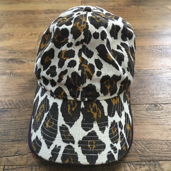 ed7d10d4e8ca6 J. Crew Accessories - J. CREW leopard print baseball cap
