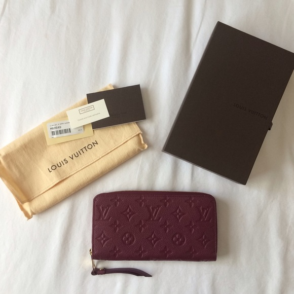 New Louis Vuitton Zippy Wallet Empreinte Aurore 6e5a08c96