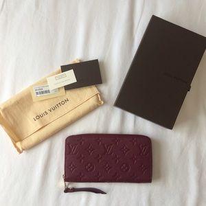 Louis Vuitton Handbags - New Louis Vuitton Zippy Wallet Empreinte Aurore
