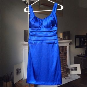 B Darlin Dresses & Skirts - Royal blue fitted cocktail dress