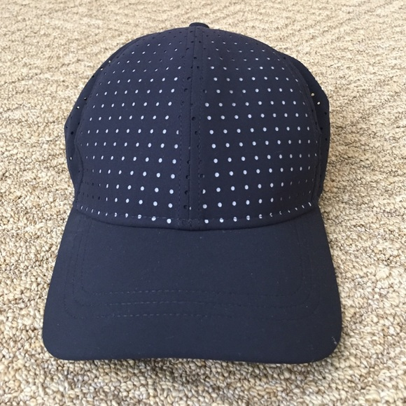 e22ff8c8f8187 lululemon athletica Accessories - Lululemon reflective polka dot hat
