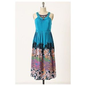 Anthropologie Island Nightfall Dress