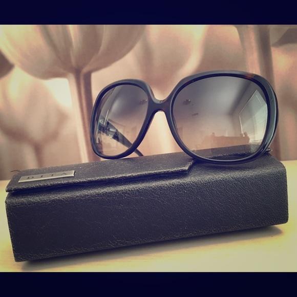 4ba298cd011 Dita Accessories - Dita Supa Dupa Black Oversized Sunglasses