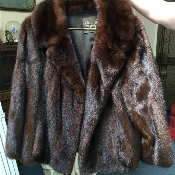 VINTAGE Mink fur coat M from Jane's closet on Poshmark