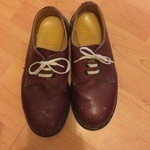 Dr. Martens Shoes - 3 eye steel cap oxblood dr Martin boots