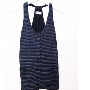 Arbor Tops - Striped button down tank
