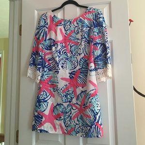 XS Lilly Pulizter she she shells starfish dress