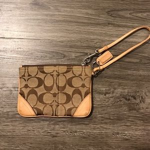 Coach Handbags - Coach signature wristlet