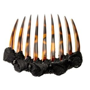 Colette Malouf Accessories - Mesh Knotted Tort Comb
