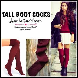 TALL SOCKS Over The Knee ThighHighs