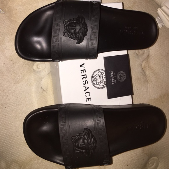 48 Off Versace Other Versace Slides Men Medusa From