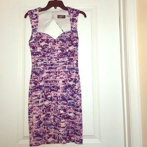 Guess Multicolored Midi Dress