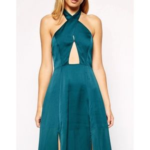 LOWEST Style stalker Queen of the Night maxi dress