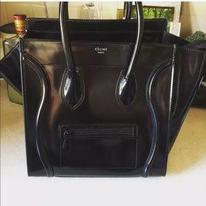Celine Handbags - 100% Authentic Celine Mini Luggage Medium