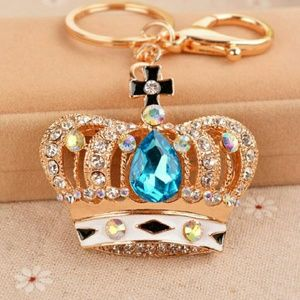 elite Jewelry - 👑Gorgeous Blue plated Crown👑