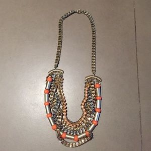 Piperlime Chain and Beaded Necklace