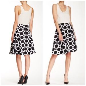 Amanda & Chelsea Dresses & Skirts - Black and White rings circle skirt