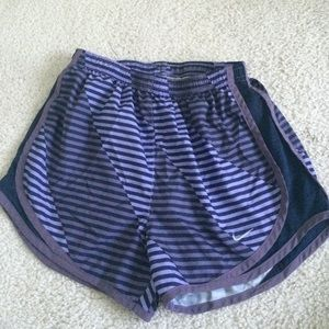 Purple Nike Tempo Shorts