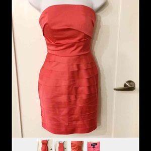 bebe Dresses & Skirts - Bebe Coral Dress