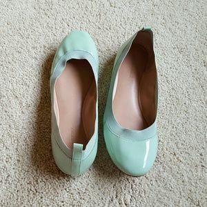 Banana Republic Ballet Flats sz 9.5 Patent