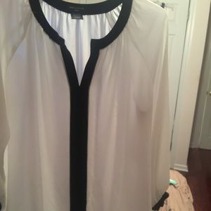 Lord and Taylor white blouse