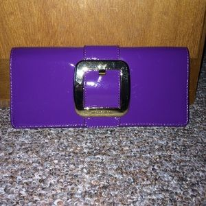 Michael Kors Patent Leather Clutch