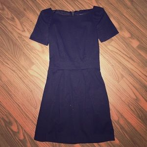 French Connection black zipper back dress size 0