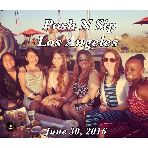 Posh N Sip Thursday 6/30/16 Venice Beach, @ 6:30pm