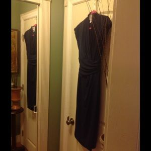 Suzi Chin  Dresses & Skirts - Maggie Boutique Navy Dress closet clean out 🎉🎉