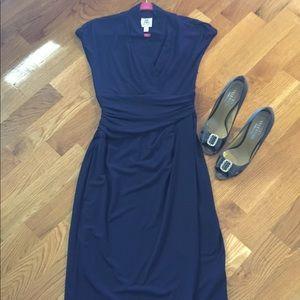 Maggie Boutique Navy Dress closet clean out 