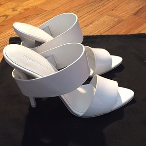 Alexander Wang Shoes - Alexander wang Mashable double band heel mules