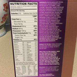 AdvoCare Other - AdvoCare Vanilla Meal Replacement Shake
